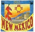 DENISE DeRUSHA DESIGNS DD-306 New Mexico Postcard 4 1/2 x 4 1/2 18 Mesh