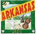 DENISE DeRUSHA DESIGNS DD-311 Arkansas Postcard 4 1/2 x 4 1/2 18 Mesh