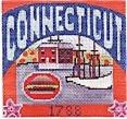 DENISE DeRUSHA DESIGNS DD-312 Connecticut Postcard 4 1/2 x 4 1/2 18 Mesh