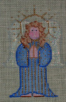 CX48 Cheryl Schaeffer And Annie Lee Designs 18 Mesh Nativity Angel