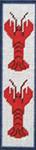 BKM221  J. Child Designs Bookmark Lobster