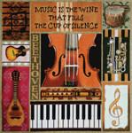 1015 Music Collage 15x 15 13 Mesh Lani Enterprisesn