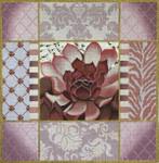 1030b Pasel Aloe Collage Pink 15 x 15 13 Mesh Lani Enterprises