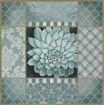 1030d Pasel Aloe Collage Green 15 x 15 13 Mesh Lani Enterprises