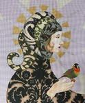 1053  Lucrezia Lady in Turban 14 x 17 18 Mesh Lani Enterprises
