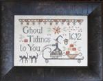 14-2393 Ghoul Tidings133w x 89h Plum Street Samplers