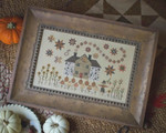 Cinnamon Stars Plum Street Sampler Distributed By Kelmscott Designs