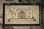 13-2394 Yuletide Welcome, A 333w x 172h Plum Street Sampler;