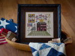 Betsy's House Plum Street Sampler Distributed By Kelmscott Designs