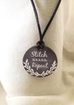 """Necklace Stitch xxxxx Repeat 1.75"""" round on a 28"""" satin cording Kelmscott Designsn"""