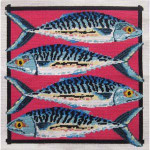 44087 Primavera Needlepoint Kit Mackerel