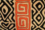 Kuba Pillow 1-Unique New Zealand Designs Ethnic Needlepoint
