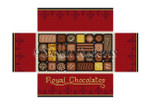 "0395 Box Of Chocolates, brick cover 13 Mesh 8 1/2"" x 4 1/2"" x 2 3/4"" Susan Roberts Needlepoint"