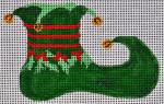 Waterweave CO908 Jester Shoe Ornament 18 mesh 4.5 x 3