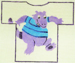 Waterweave CO1504 Sneaky Monster T-shirt Ornament, hanger ond slitch  Guide 18 Mesh 5 x 4