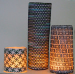 Waterweave CO1523 18 Mesh Candle Wrap Set of 3 and stitch guide 9 x3,9 x 6. 9 x 9 With Stitch Guide