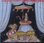 AN158 Colors of Praise  Monkey on Camel 18M 14x14
