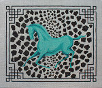 AN181 Colors of Praise 13 Mesh Horse 14x12