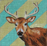 AN187 Colors of Praise 18 Mesh Deer 5 x 5
