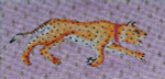 BR119 Colors of Praise Vintage Tiger 8 1/2  x 4   18M