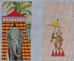 EY131 Circus Elephant  3.5 x 7   18M Eyeglass Colors of Praise