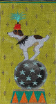 EY132 Circus Dog 3 1/2x7 18M Colors of Praise