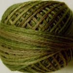 Valdani Floss 3Ply Balls Green Olives - VA10519