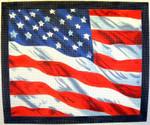"KB 022 Kirk And Bradley Designs 13 Mesh U.S. Flag 11.75"" x 13"""