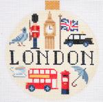 "KB 1259 Kirk And Bradley Designs 18 Mesh Travel Round- London 4"" round"