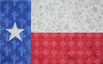 "KB 334-18 Kirk And Bradley Designs 18 Mesh Texas Floral Flag 16"" x 9.75"""