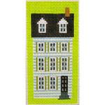 "KB 231 Kirk And Bradley Designs 18 Mesh Boston Town House Key Fob 4"" x 2"""