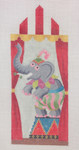 "KB 1203 Kirk And Bradley Designs 18 Mesh Circus Tent Elephant 7"" x 3"""