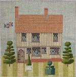 "KB 1159 Kirk And Bradley Designs 18 Mesh Little Britain - Tudor home 5"" x 5"""