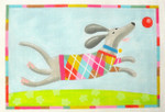 "KB 423 Kirk And Bradley Designs 18 Mesh Flotsam (Dog Argle Pattern)  6.25"" x 9"""