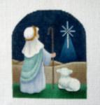 OR-2 Shepherd Boy J. MALAHY DESIGNS CHRISTMAS Ornament 18 Mesh