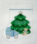 OR-3B First Christmas/boy  J. MALAHY DESIGNS CHRISTMAS Ornament 18 Mesh