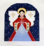 OR-12 Angel J. MALAHY DESIGNS CHRISTMAS Ornament 18 Mesh
