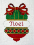 OR-4 Noel bell J. MALAHY DESIGNS CHRISTMAS Ornament 18 Mesh
