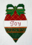 OR-6 Joy bell J. MALAHY DESIGNS CHRISTMAS Ornament 18 Mesh