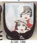 A-120 City Girls 13M Sophia Designs Purse