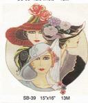 """SB-39 3 Vogue Ladies Sophia Designs 15"""" x 16"""" 13M"""