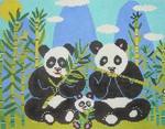CC726 Panda Express 13x10 13 Mesh Birds Of A Feather  Mesh