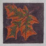 3x3-001 Autumn Leaf Little Bird Designs
