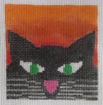 3x3-004 Bobby Little Bird Designs Cat 18 mesh