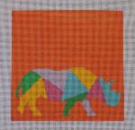 AS-005 Rhino Little Bird Designs 13 mesh 8″ x 8″