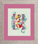 14-1078 Letter From Mermaid-H Size: 89w x 120h