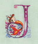14-1747 Letter From Mermaid-K Size: 91w x 108h