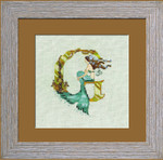 14-1748 Letter From Mermaid-L Size: 125w x 124h
