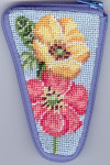 APSZ919 Buttercups scissor Alice Peterson Stitch And Zip
