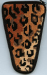 APSZ901 Alice Peterson Stitch And Zip Leopard scissor